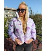 Плътно яке Meliss Shades Of Lilac